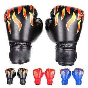 Kinder Boxhandschuhe, Box-Handschuhe für Kinder von 3-14 Jahre Training Gloves  6OZ zum MMA, Muay Thai, Kickboxen und Sandsack Sport