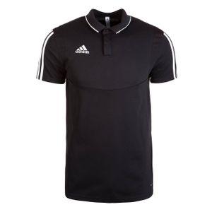adidas Herren Fußballtrikot Tiro 19 Polo 000 BLACK/WHITE XXL