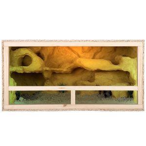 Repiterra Holz Terrarium mit Seitenbelüftung 100x50x50 cm