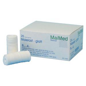 MaiMed Maielast glatt elastische Fixierbinde 8 cm x 4 m