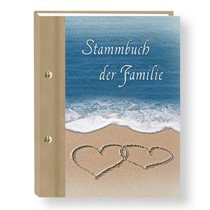 Stammbuch der Familie Ocean Stammbücher A4 Familienstammbuch Trauung Stammbaum Hochzeits Eheurkunden Trauung Maritim Hochzeit Strandhochzeit