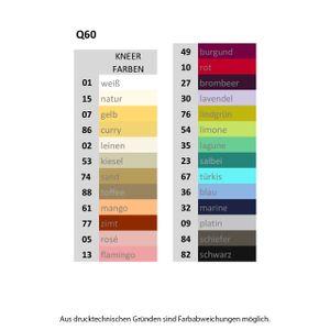 Kneer Q60 Single-Jersey Spannbetttuch 31 Aqua