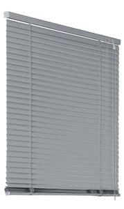 Alu Jalousie Aluminiumjalousie 100x130cm silber Rollo Schalusie Jalousette