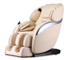 HOME DELUXE - Massagesessel DIOS V2 Beige Massagestuhl Relaxsessel Massagetherapie