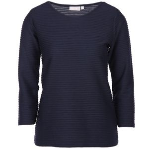Damen Struktur Shirt mit 3/4 Arm