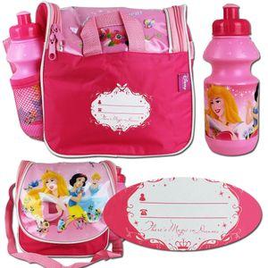 Disney Lunchbag Set Princess - Trinkflasche - Rucksack - Umhängetasche