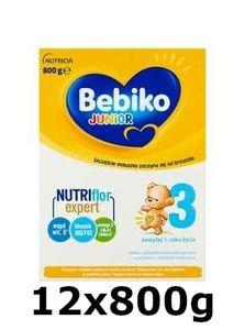 GroßhandelPL Bebiko 3 Junior Milch 12x800g