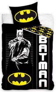 Batman Kinder Bettwäsche Set 135/140x200 Baumwolle Schwarz n NEU