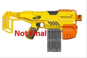 Nerf Alpha Strike Flyte CS-10 Blaster