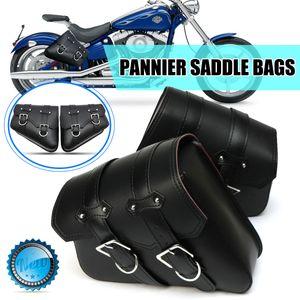 Paar Motorrad Satteltasche Seitentasche Gepäcktasche Für Harley Davidson Touring