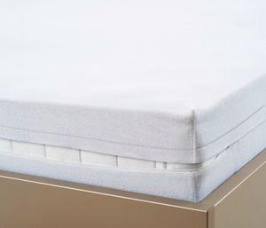 Biberna Matratzenhülle H: 22cm 100x200cm Weiß Wasserundurchlässig Matratzenbezug