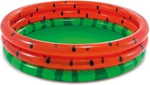 Planschbecken - Wassermelone (168 x 38cm) Babypool aufblasbar Kinderplanschbecken