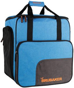 BRUBAKER Super Performance Skischuhtasche Helmtasche Rucksack mit Schuhfach