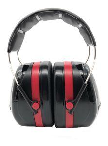 3M Gehörschutz Optime lll Kapseln schwarz/rot doppelte Schale