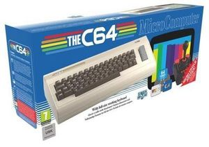 The C64 Maxi Retro Konsole inkl. Controller Commodore 64 Spiele NEU&OVP