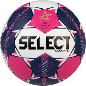 Select Ultimate CL Women Handball Wettspielball Größe 2 pink-weiss-blau