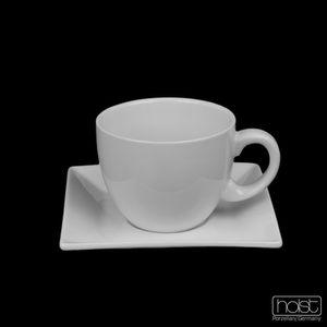 """Holst Porzellan/Germany, Porzellan Cappuccinotassen """"YoYo"""" Set 12-tlg. , weiß, PA 151 SET 12"""