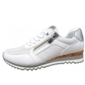 Marco Tozzi Damen Sneaker in Weiß, Größe 39