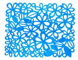 SPÜLBECKEN EINLAGE 30x24cm eckig Spülbeckenmatte Spülbeckeneinlage Spülbecken Matte Einlage 93 (Blau)