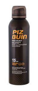Piz Buin Instant Glow Skin Illuminating Sun Spray Spf15 150ml