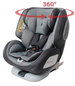 Osann Baby- und Kindersitz ONE360° Universe Grey mit ISOFIX