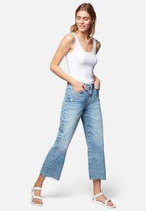 Mavi YOUNG FASHION Damen ROMEE Damen Hose Jeans indigo ripped 90s str W28/L27