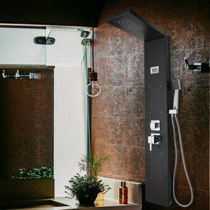 VINGO Duschpaneel Duschpaneel-Set Duschset Komplettdusche Duschsaeule Duschbrause