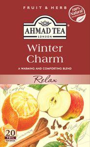Ahmad Tea- Winter Charm als Beutel-Tee mit 20 Beuteln, besonders für die Besinnliche Zeit
