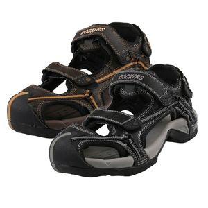 DOCKERS by Gerli Trekkingsandale Wassersandale Sandale Schuhe Herren , Größe:EUR 44, Farbe:Schwarztöne
