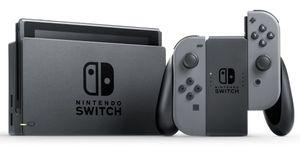 Nintendo Switch Konsole mit verbesserter Akkuleistung, Farbe: Grau HAC-001(-01)