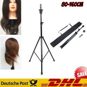 Friseur Übungskopfhalter Frisierkopf Übungskopf Ständer Stativ 80  160cm
