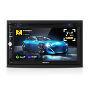 NEOTONE NDX-360A | 2DIN Autoradio | GPS Navigation mit Europakarten | DAB+ Unterstützung | 7 Zoll | USB l SDHC | Full HD | 16GB integriert | WLAN | Bluetooth | MirrorLink | OBD 2 | RDS