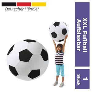 XXL Fußball -Giant- Spielzeug Dekoartikel Ø 50 cm aufblasbarer Ball groß Riesenfußball Spielball Fanartikel