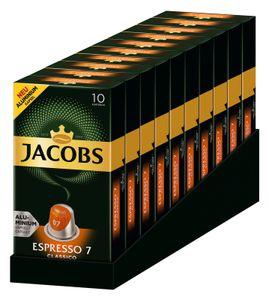 JACOBS Kapseln Espresso Classico 100 Nespresso kompatible Kaffeekapseln