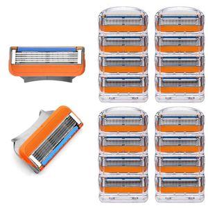 16 Stück Rasierklingen Herrenrasierer mit Klinge kompatibel für Fusion 5