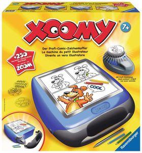 RAVENSBURGER Xoomy® Maxi Zeichentisch Malset Lichttisch Zeichenkoffer Comic