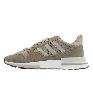 Adidas Originals ZX 500 RM Remake Boost Schuhe Sneaker braun/grau/weiß BD7859, Schuhgröße:36 EU
