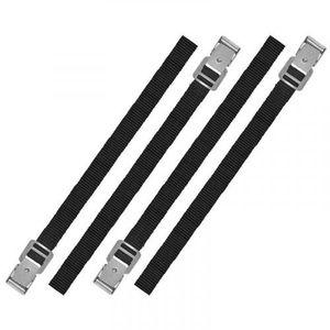 ProPlus Bindestreifen 18 x 400 mm Polyester schwarz 4 Stück
