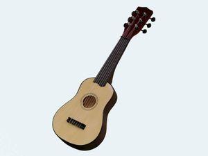 Concerto Kindergitarre, Klassische Holzgitarre, 55 cm
