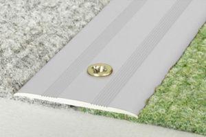 1,8 Meter | Übergangsprofile | Alu | eloxiert | Effector | 35x2mm | A08, Farbe:Silber