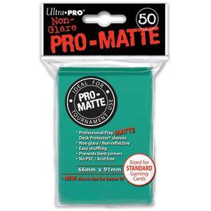Ultra Pro - Non-Glare Pro-Matte Sleeves - Aqua