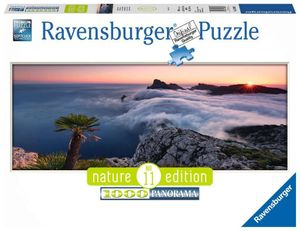 1000 Teile Ravensburger Puzzle Panorama Nature Edition Im Wolkenmeer 15088
