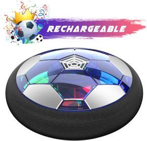 Air Power Fußball - 2019 Wiederaufladbar Hover Ball Indoor Football mit LED, Super Spaß beim Fußballspielen in Innenräumen, Perfekt für Kinder Jungen Mädchen(AA Batterien Wird Nicht benötigt)