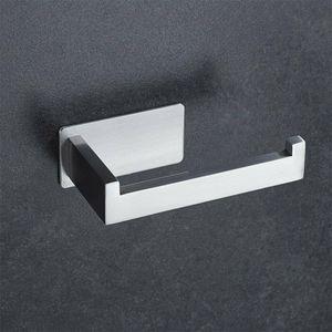 Toilettenpapierhalter ohne bohren Selbstklebend Klopapierhalter Edelstahl WC Papierhalter für Badezimmer Edelstahl