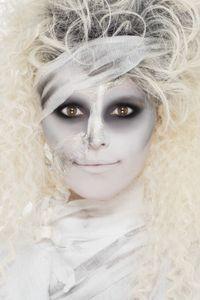 Halloween Schminke Mumie Latex Horror Fleisch Bandage Fettstifte