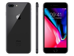 Apple iPhone 8 Plus (5,5 Zoll) 64 / 256GB Space Grau / Silber / Gold, Farbe:gold, Speicher:256 GB, Zustand:Akzeptabel