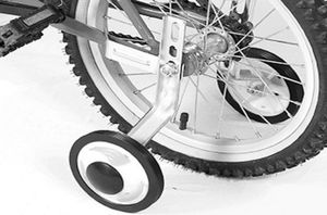 2x Universal Stützräder Kinderfahrrad 12' - 20' Zoll Stützrad Fahrrad Kinder