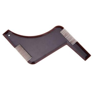 Somubi Bartschablonen Bartpflege Bart schablone für Kinnbart, Hals und Koteletten Bartschablone