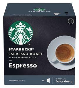 Starbucks by Nescafe Dolce Gusto 12 Kapseln Espresso Roast Arabica Kaffee