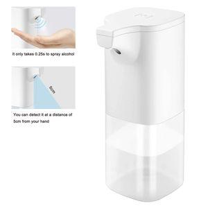 Desinfektionsmittelspender Automatisch Desinfektionsmittel Spender, Automatischer Infrarot Sensor Seifenspender Hand Desinfektionsspender Berührungslos 350ml Hohe Kapazität für Küche Bad